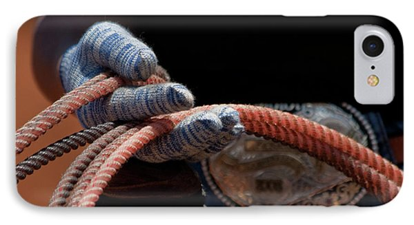 IPhone Case featuring the photograph Ready To Rope by Roger Mullenhour