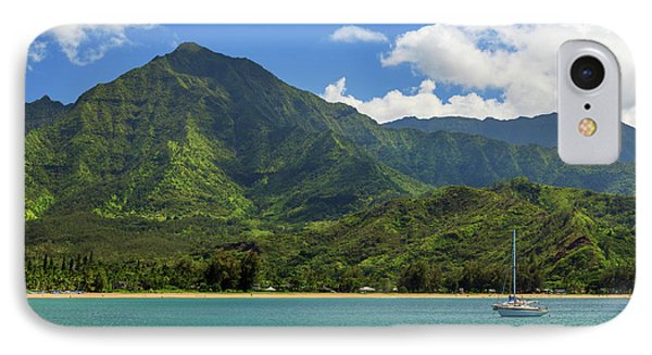 Ready To Sail In Hanalei Bay IPhone Case by James Eddy