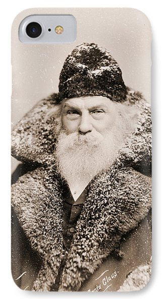 Real Life Santa Claus IPhone Case by American School