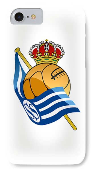 Real Sociedad De Futbol Sad IPhone Case by David Linhart