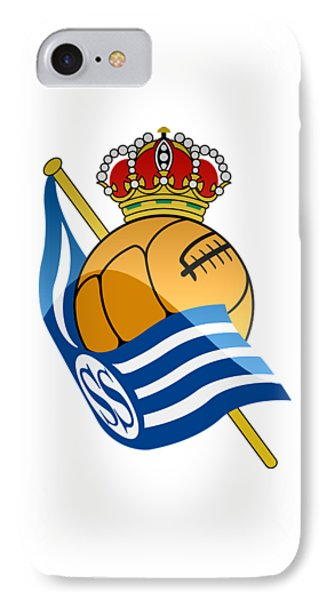 Real Sociedad De Futbol Sad IPhone 7 Case by David Linhart