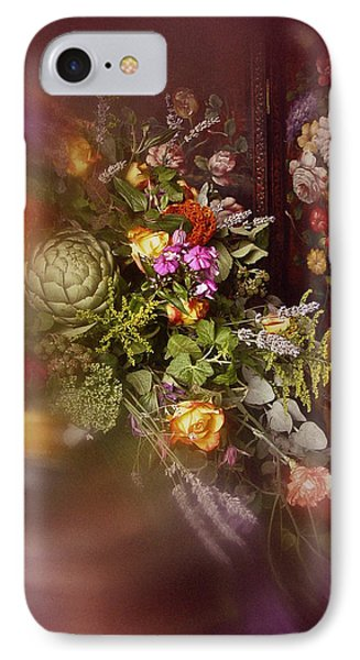 IPhone Case featuring the photograph Floral Arrangement No. 1 by Richard Cummings