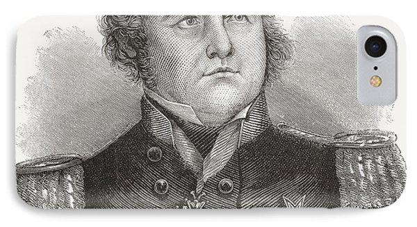 Rear-admiral Sir John Franklin, 1786 IPhone Case