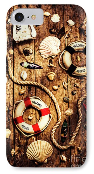 Rearranging The Deck Chairs IPhone Case by Jorgo Photography - Wall Art Gallery