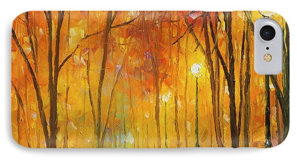 Reasons Of Autumn  Phone Case by Leonid Afremov