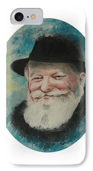 Rebbe Smiling IPhone Case by Miriam Leah