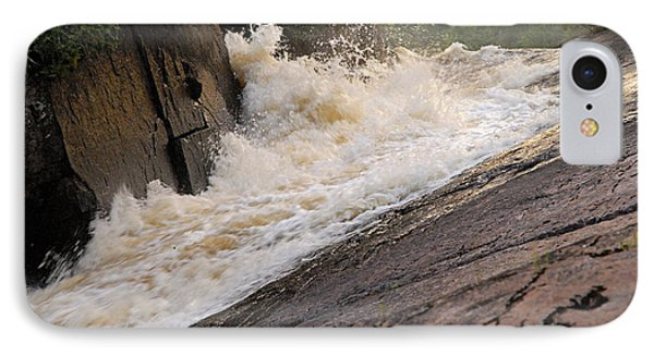 Rebecca Falls At Sunset Phone Case by Larry Ricker