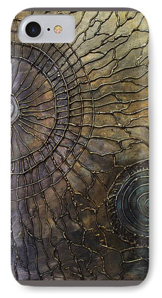 IPhone Case featuring the painting Rebirth by Patricia Lintner