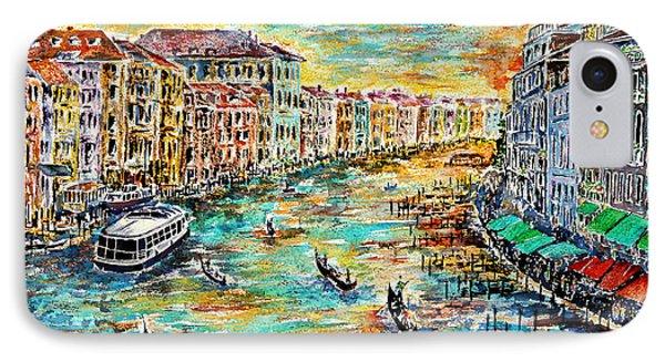 Recalling Venice IPhone Case