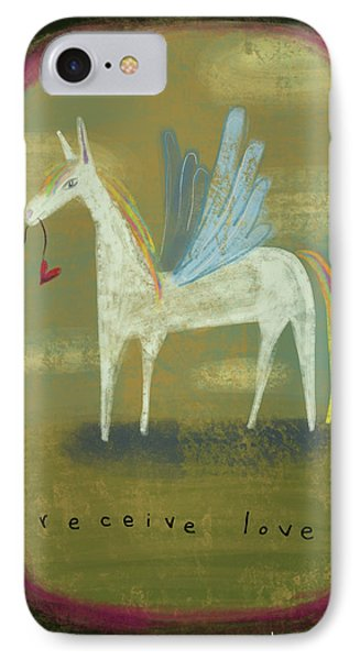 IPhone Case featuring the painting Receive Love by Marti McGinnis