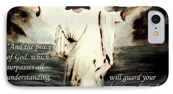 Receive My Peace IPhone Case by Hazel Holland