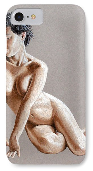 IPhone Case featuring the painting Reclining Figure by Joseph Ogle