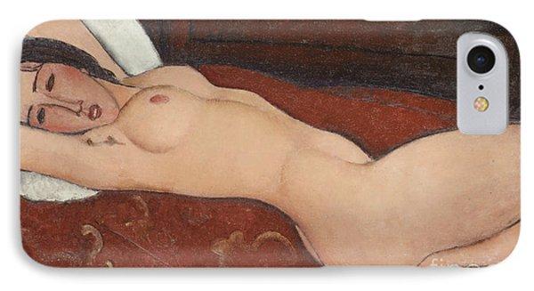 Reclining Nude, 1917 IPhone Case
