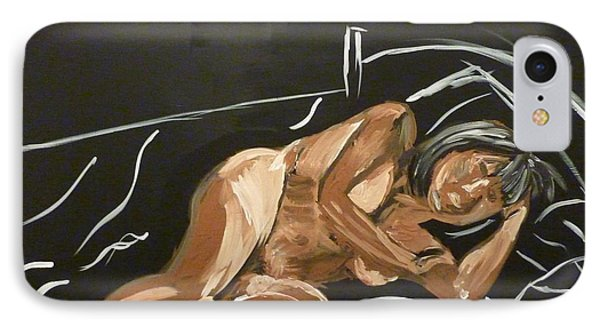 Reclining Nude IPhone Case by Joshua Redman