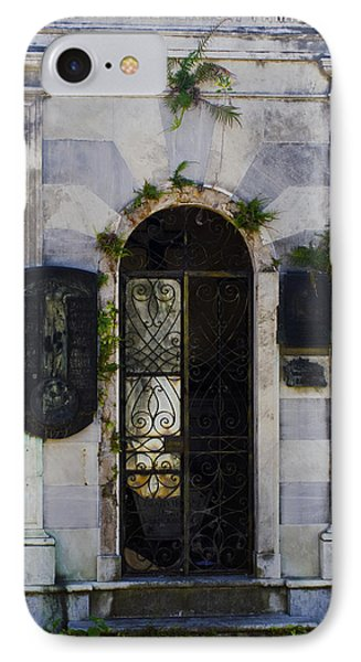 Recoleta Door IPhone Case by Rob Tullis