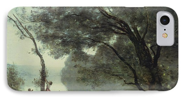 Recollections Of Mortefontaine IPhone 7 Case by Jean Baptiste Corot