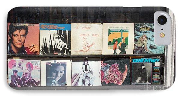 Record Store Burlington Vermont IPhone Case by Edward Fielding