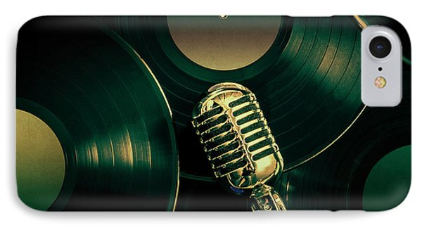Recording Studio Art IPhone Case by Jorgo Photography - Wall Art Gallery