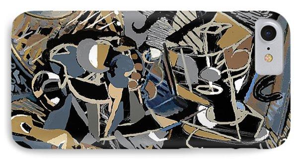 IPhone Case featuring the digital art Recuerdos De Espana by Clyde Semler