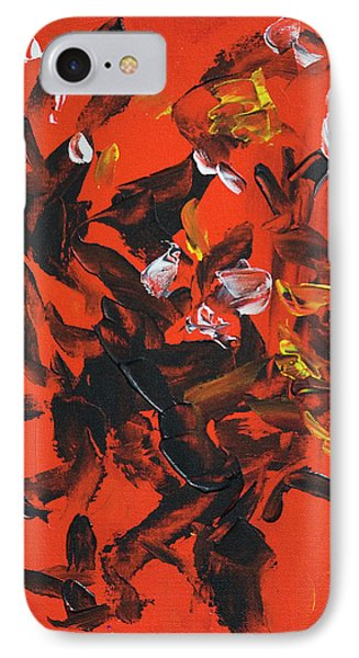 Red And Black IPhone Case