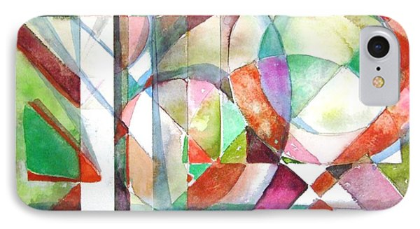 Red And Green IPhone Case by Mindy Newman