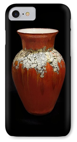 Red And White Vase IPhone Case