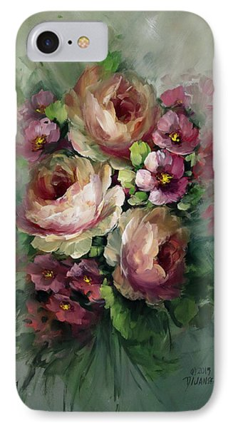Red And Yellow Flowers Phone Case by David Jansen