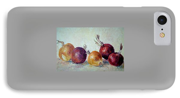 Red And Yellow Onions IPhone Case