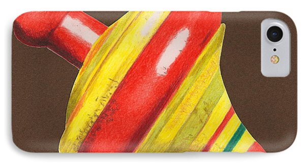 Red And Yellow Top IPhone Case