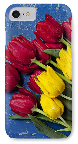 Red And Yellow Tulips Phone Case by Garry Gay