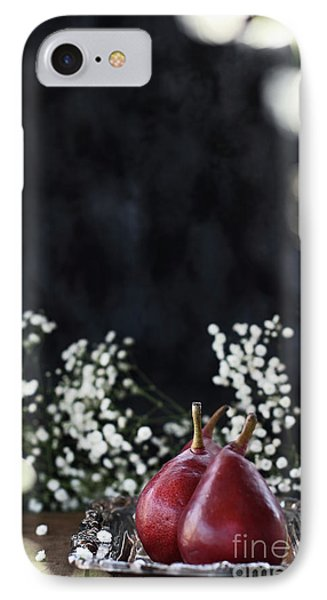 IPhone Case featuring the photograph Red Anjou Pears by Stephanie Frey
