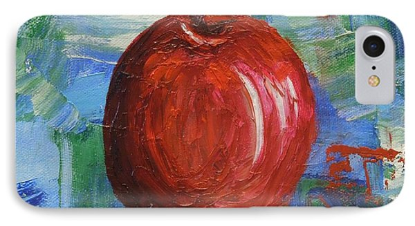 Red Apple Rhapsody-sold IPhone Case by Judith Espinoza