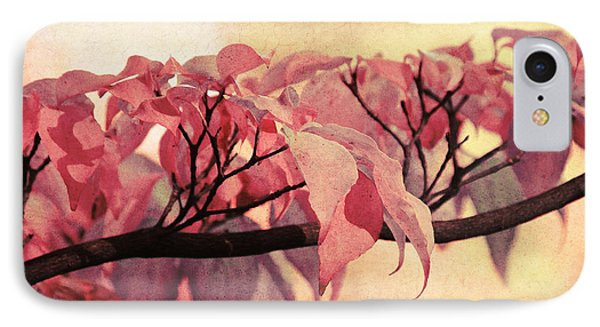 Red Autumn Day IPhone Case by Angela Doelling AD DESIGN Photo and PhotoArt