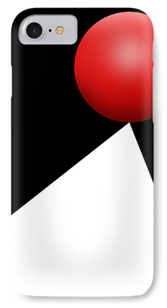 Red Ball S Q 10 IPhone Case