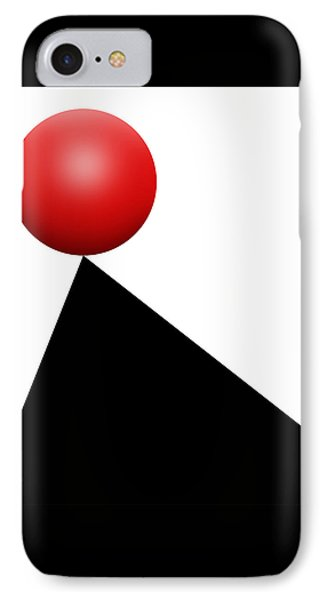 Red Ball S Q 9 IPhone Case
