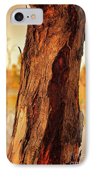 IPhone Case featuring the photograph Red Bark by Douglas Barnard