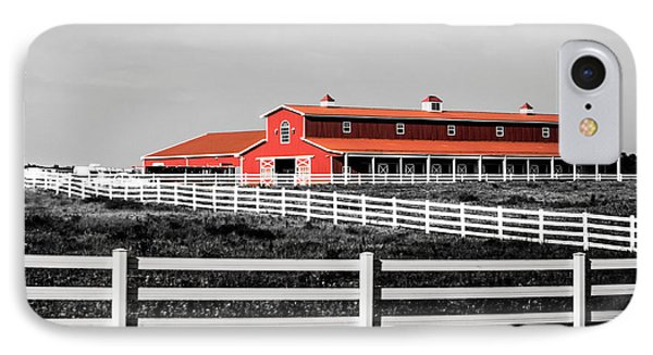 Red Barn IPhone Case by Parker Cunningham