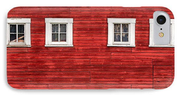Red Barn Side IPhone Case by Todd Klassy