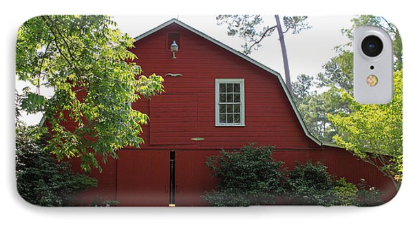 Red Barn Phone Case by Suzanne Gaff
