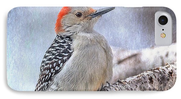 Red-bellied Woodpecker IPhone Case by Patti Deters