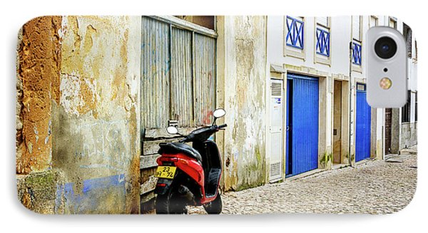 IPhone Case featuring the photograph Red Bike by Marion McCristall