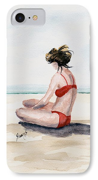 Red Bikini IPhone Case