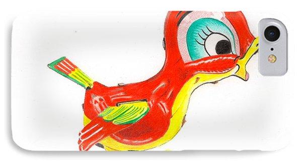 Red Bird IPhone Case