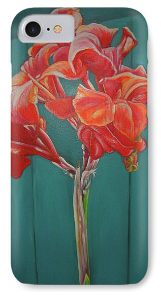 Red Bloom Phone Case by John Keaton