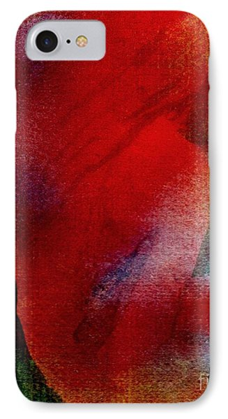 Red Boudoir Phone Case by Susan Kubes