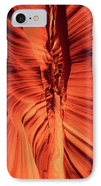 Red Breaks IPhone Case by Johnny Adolphson