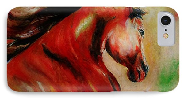 Red Breed IPhone Case by Khalid Saeed