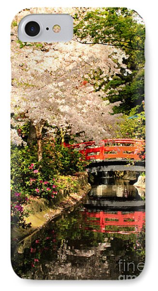 Red Bridge Reflection Phone Case by James Eddy