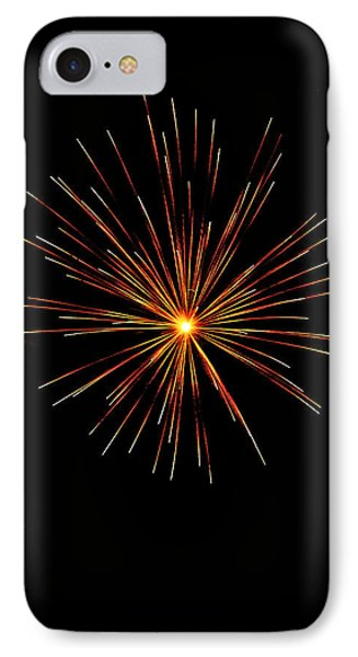 Red Burst Phone Case by Phill Doherty