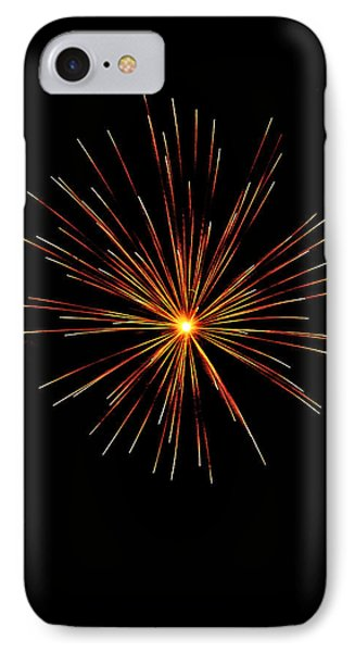 Red Burst IPhone Case by Phill Doherty
